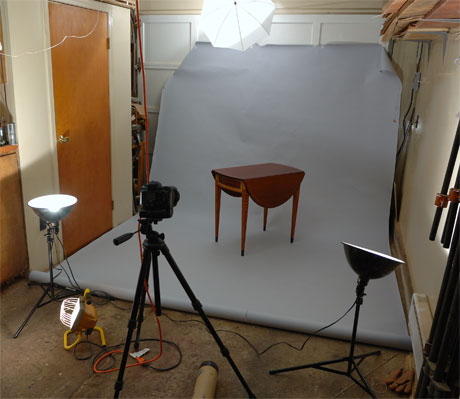 Photo set up